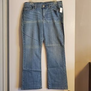 GAP boot cut jeans, size 12A